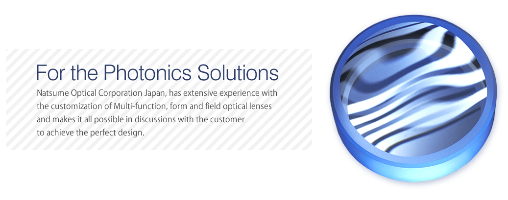 For the Photonics Solutions
